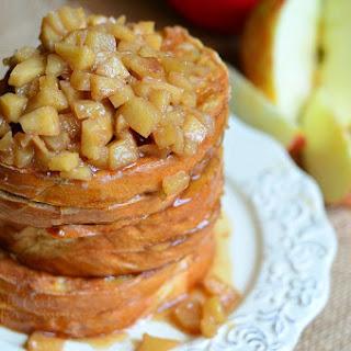 Apple Pie Stuffed French Toast