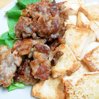 Stir-fried Pork and Tofu