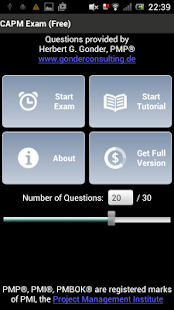 CAPM® Exam Free- screenshot thumbnail