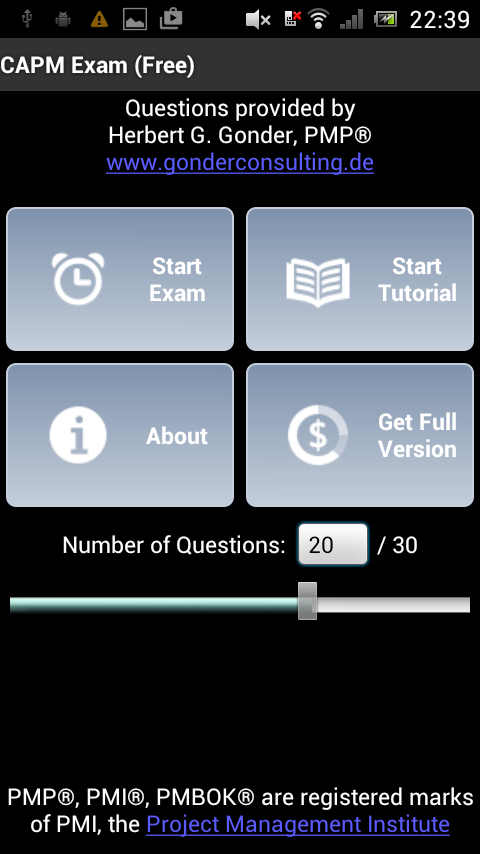 CAPM® Exam Free- screenshot
