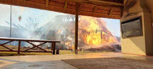 Fire rips through game farm in Krugersdorp