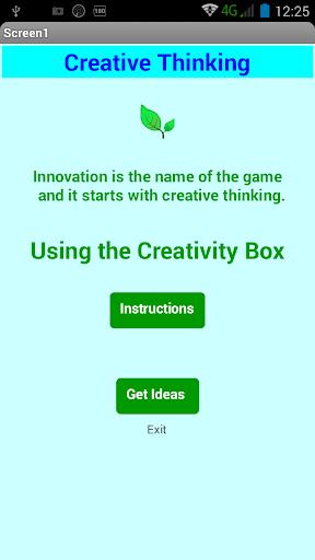 Creative Thinking Box Free 1.5 screenshots 8