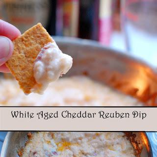 White Aged Cheddar Reuben Dip