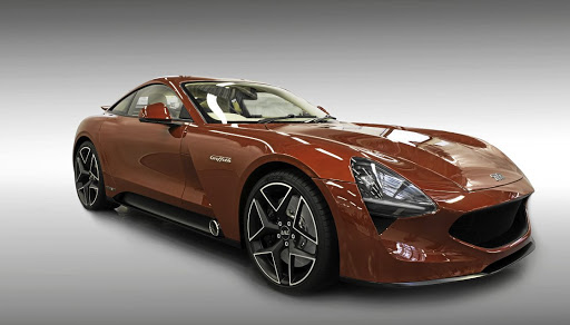 The official TVR pictures do little justice to the new TVR Griffith but we are told it looks great