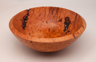 "Photo: GARY NICKERSON – 9.5"" x 3.75"" Bowl [Maple Burl]"