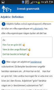 Svensk grammatik- screenshot thumbnail