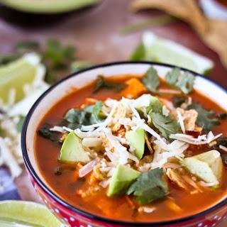Classic Mexican Tortilla Soup.