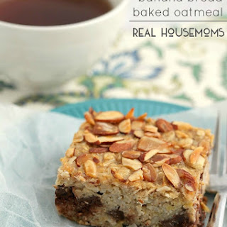 Almond Joy Banana Bread Baked Oatmeal