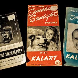 1946 Camera Manuals by Don Kuhnle - Digital Art Things ( art, brochure, paper, manuals, publications )