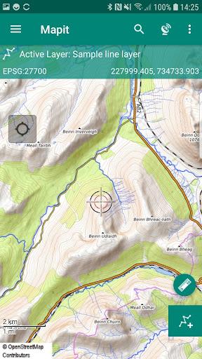 mapit spatial - gis data collector & measurements screenshot 2