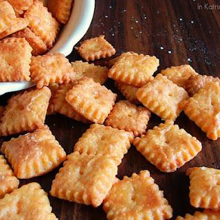 Crisp Cheddar Copycat Crackers