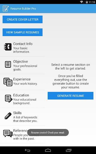 Resume Builder Pro Apps On Google Play
