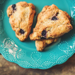Blueberry Vanilla Scones (Gluten-Free) Recipe