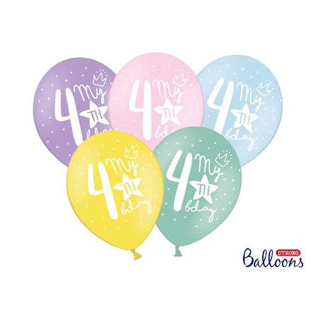Ballonger My 4th birthday