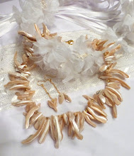 Photo: # 224 Mother of pearl, gold plate $120 SOLD