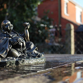 Buddha  by Bradley Foot - Artistic Objects Other Objects ( figurine, statuette, buddha, garden, pure, canon, peacefull,  )