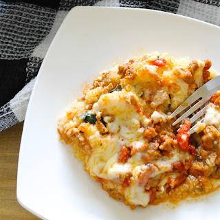 Chorizo Polenta Casserole