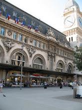 Photo: Gare de Lyon is one of the six large railway termini