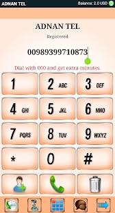 ADNAN TEL Mobile Dialer - náhled