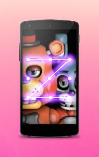 Lock Screen For Freddy Night - náhled