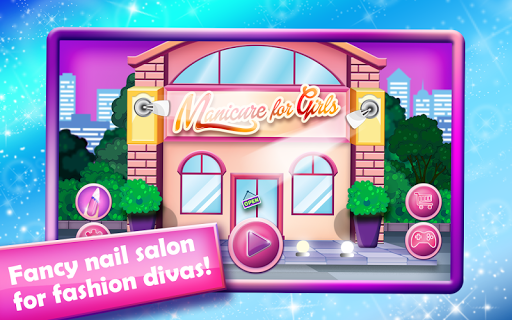 Nail Salon-Manicure for Girls