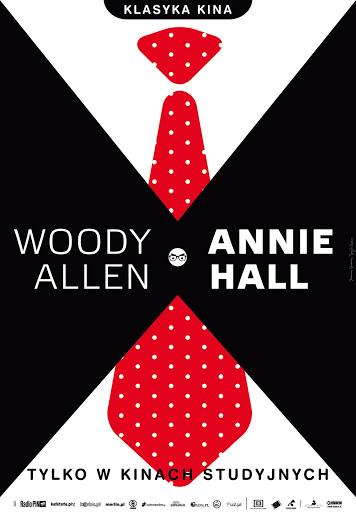 Polski plakat filmu 'Annie Hall'