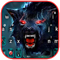Scary Dire Wolf Keyboard Theme icon