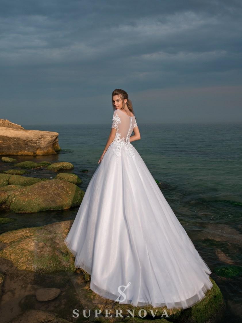 свадебные платья бального фасона оптом