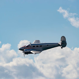 Flying by Mel Stratton - Transportation Airplanes ( plane, flight, aircraft, airplane, transport )