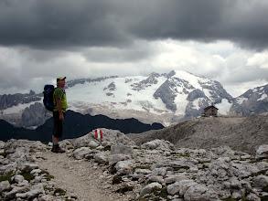 Photo: La Marmolada, tout près...