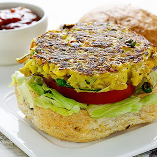 Vegetable Burger.