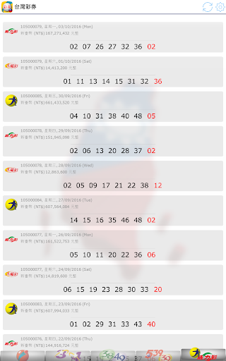 Fast Taiwan Lottery Results screenshot 13