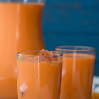 Jamaican Style Carrot Juice.