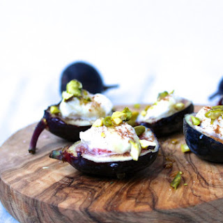 Figs with Honey Ricotta.