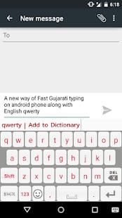 PaniniKeypad Gujarati IME screenshot