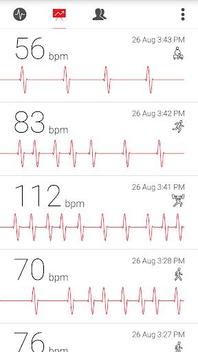 Cardiograph - Heart Rate Meter 4.1.2 screenshots 3