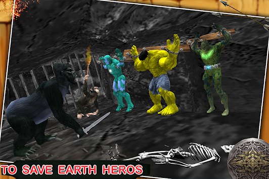 Grand Arrow Hero Survival: Superheroes Rescue apk screenshot