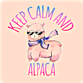 Kawaii Alpaca Wallpaper