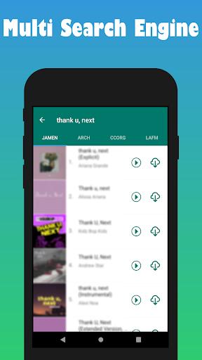Free Mp3 Music Downloader screenshot 2