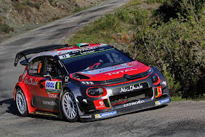 Recreso al asfalto para los Citroén C3 WRC en el Rallye de Alemania