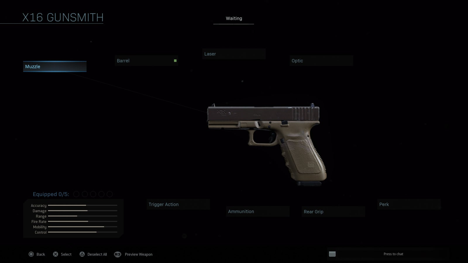 X16 Pistol