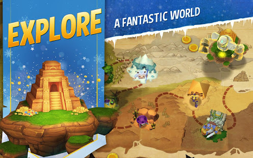 Game Shop Titans: Epic Idle Crafter, Build & Trade RPG. APK for Windows Phone