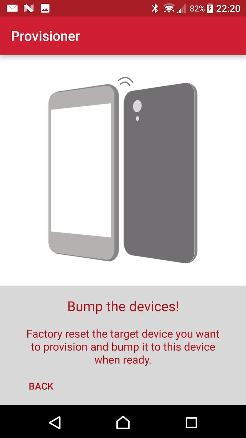 Скриншот MobileIron Provisioner