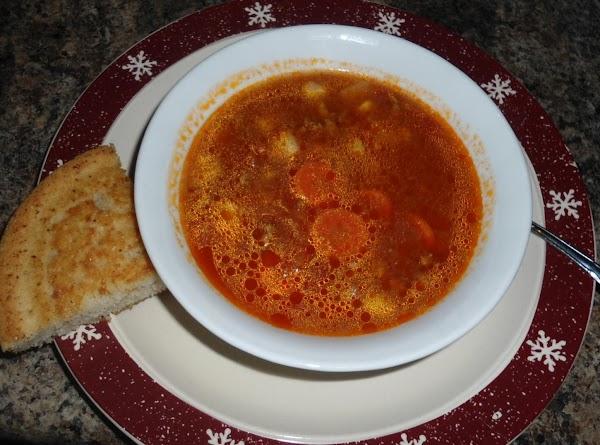 Cajun Hamburger Soup Recipe