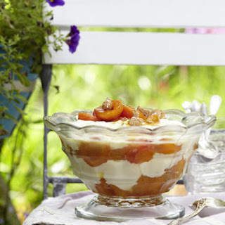 Mascarpone and Apricot Parfait