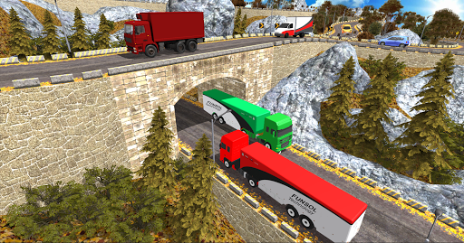 Euro Truck Uphill Simulator for Android apk 3