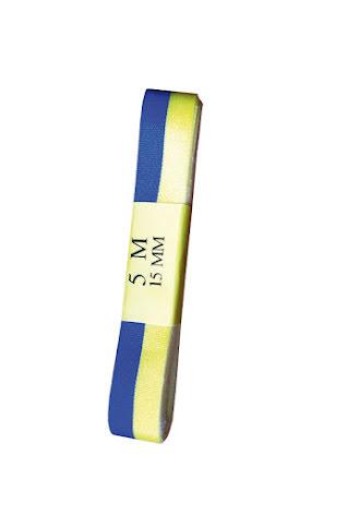 Blå/gula band