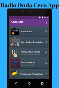 Radio Onda Cero App - náhled