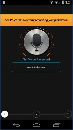 Voice Unlocker - Phần mềm mở khóa màn hình bằng giọng nói