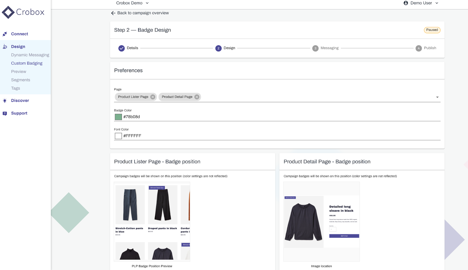 ecommerce product badging for data-driven CX